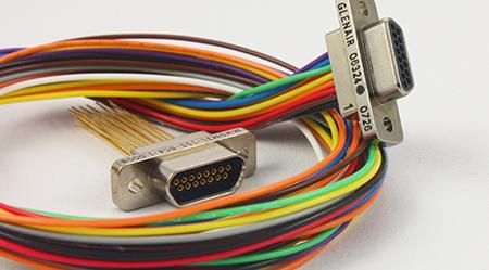 Glenair MIL-DTL-83513 Micro-D Connectors