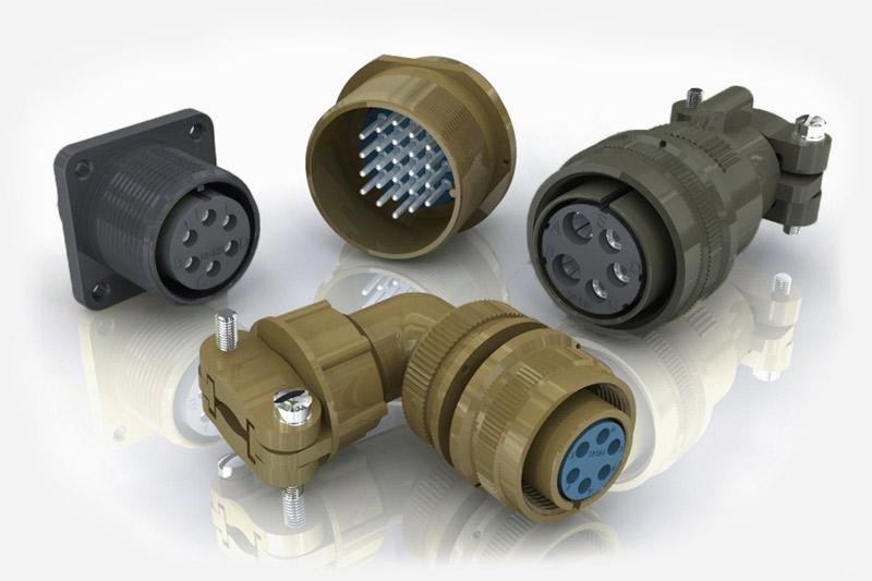 MIL-DTL-5015 (MIL-C-5015) Connectors