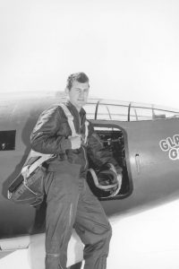 Chuck Yeager in the Cockpit of the X-1