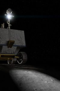 NASA is seeking bids from companies in its CLPS commercial lunar lander program for delivering the VIPER rover to the moon by 2023. Credit: NASA Ames/Daniel Rutter