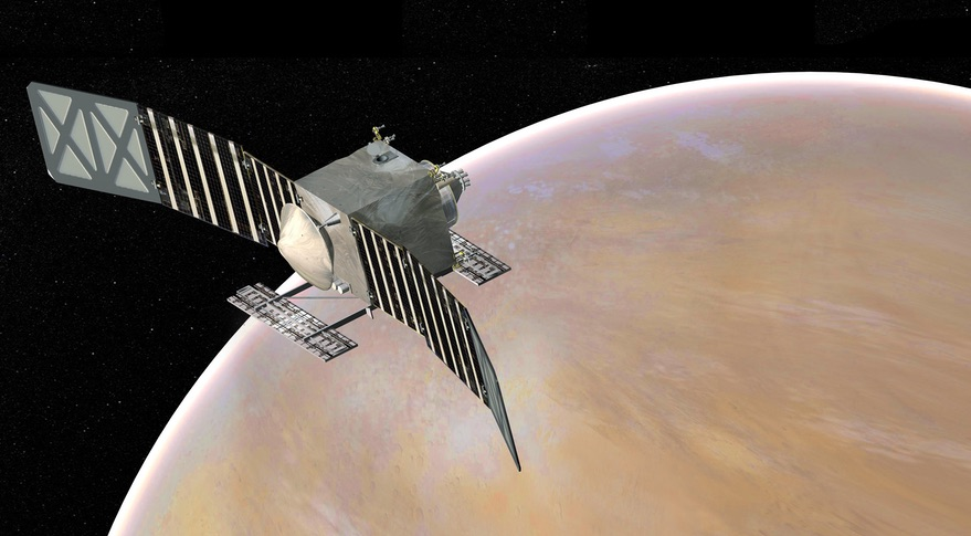 VERITAS is a proposed Venus orbiter mission that lost in the previous round of NASA's Discovery program but is a finalist again in the ongoing Discovery competition. Credit: NASA/JPL-Caltech