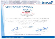 Souriau-Sunbank by Eaton Certificate of Approval